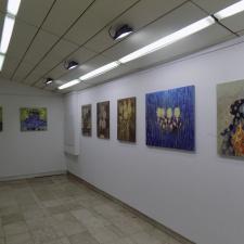 Exhibition of paintings by Ivo Pecov, Marjan Dzin and Svilen Stefanov in Kumanovo (photo)